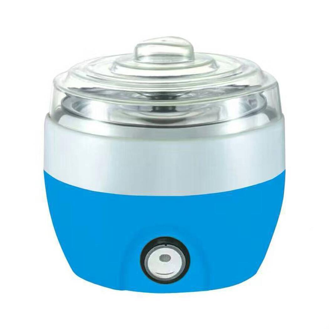 Portable Automatic Household Mini Yogurt Machine 15W CN Kitchen Appliances No User Manual 220V 50Hz Tool 1.0L
