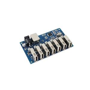 Image 2 - Usb разветвитель 1 7 портов, usb концентратор с 7 портами, usb разветвитель с блоком питания и расширением USB2.0