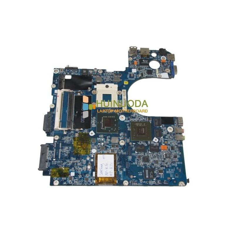 NOKOTION BA92-04803A for samsung R70 np-r70 laptop motherboard pm965 nvidia ddr2 nokotion for samsung r60 plus laptop motherboard np r60y ba92 04772a rs600me sb600 radeon xpress 1250 ddr2