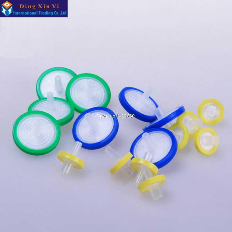 100PCS 13mm 0.22 / 0.45um NYLONM Filtrační membrána s filtrem - Školní a vzdělávací materiály - Fotografie 2