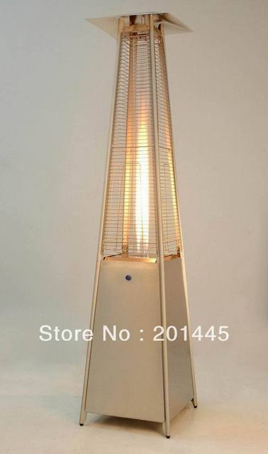 Gas Patio Heater Flame Patio Heater Pyramid Triangle Glass Tube Flame Patio  Heaters