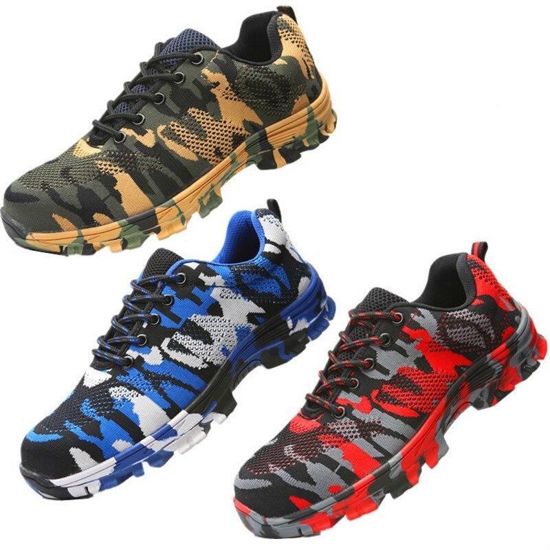Werkschoenen Laarzen.Veiligheidsschoenen Met Stalen Kop Voor Beschermen Schoenen Van