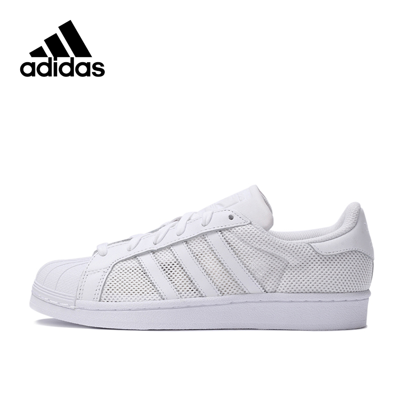 Original New Arrival Adidas Authentic Superstar Men's Skateboarding Shoes Sneakers adidas x pharrell little kids superstar supercolor