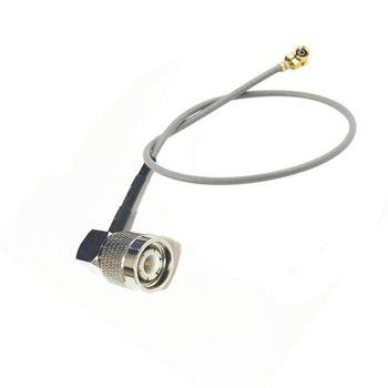TNC hombre Interruptor de ángulo recto ufl/ipx Cable RF la Asamblea 15cm para tarjeta Wifi de PCI Router inalámbrico envío rápido