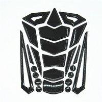 Motorcycle High Quality Black Carbon Fiber Tank Pad Protector Gas cap Sticker Fit GSXR 600 750 650 R6 R1 FZ6 FZ6R FJR ZX 6R 12R