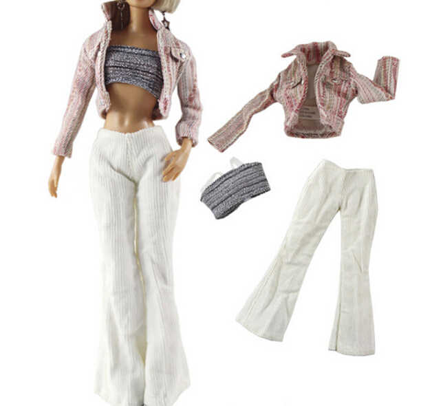 47aa57e873 15 Styles Doll Party Clothes Elegant Blouse Casual Wear Girls Suit Trousers  Clothes Accessories For Doll Girls'Gift