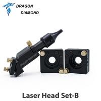 Co2 Laser Head Reflection Laser Mirror Mount Dia 20MM FL50.8 63.5MM Mirror 25MM Diameter for Laser Engraving Cutting Machine