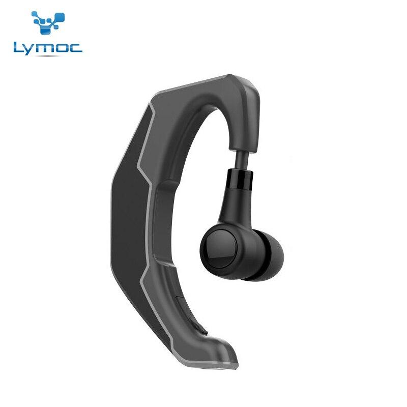 LYMOC Q3 New Bluetooth Headset Ear Hook Wireless Earphone CSR4.1 HD MIC Handsfree Phone Headphone Universal for iPhone XiaoMi headset earphone universal wireless bluetooth headset handsfree earphone for phone samsung onepl fashion high quality new jan1