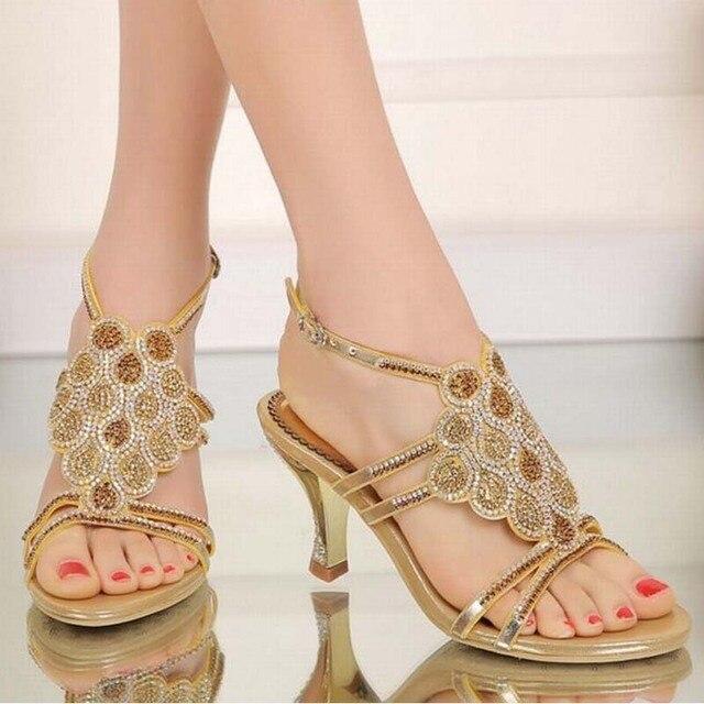 hot nouvelle arriv e femmes confortable gladiateur talons sandales femme romaine t boucle