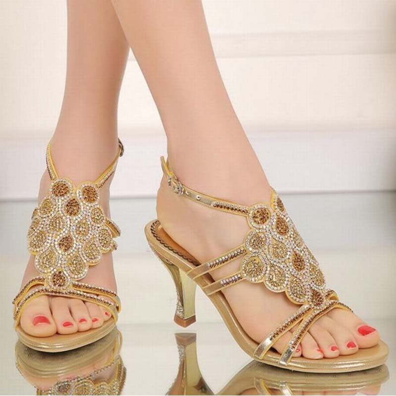 hot new arrival women comfortable gladiator high heels sandals woman roman summer buckle party shoes elegant ladies brand pumps hot women party sandals 2016 summer brand elegant high heels sandalias women s dress shoes sandal sjl342 page 7