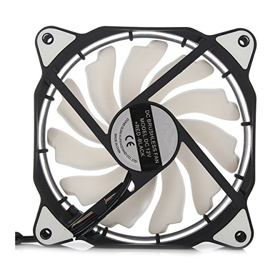 HOT-3-Pin/4-Pin 120mm PC Computer Case CPU Cooler Cooling Fan with LED Light DC12V 3 pin brushless computer pc case cooling cooler fan 7 x 7cm
