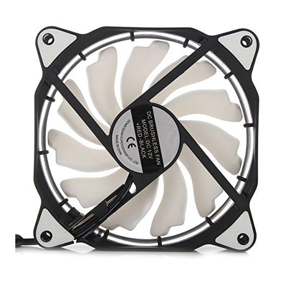 HOT-3-Pin/4-Pin 120mm PC Computer Case CPU Cooler Cooling Fan with LED Light DC12V разъём lj 60599 3 conn pc pin circ 0 058dia gold