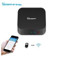 Itead Sonoff RF Bridge Smart Home Wireless Wifi Switch 433Mhz RF Remote Converter To WiFi Remote