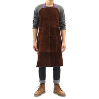 NEW Safurance Welding Equipment Welder Heat Insulation Protection Cow Leather Apron 60x90cm Workplace Safety