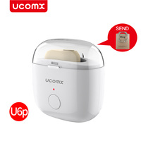 UCOMX U6P Mini In Ear Wireless Earbuds Headset Bluetooth Earphone Invisible Earpods Handsfree Earpiece For IPhone