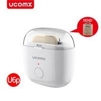 UCOMX U6 U6P Mini Wireless Earbuds Headset Bluetooth Earphone Invisible Hidden Hands Free Earpiece For IOS