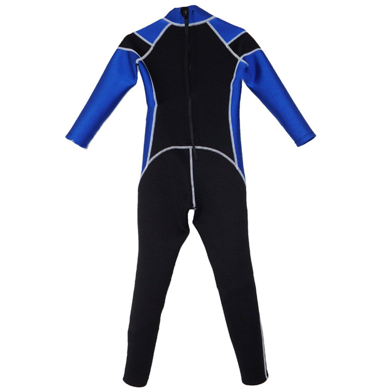 2.5 mm Neoprene UV Protection Thermal Swimsuit Full Suit and Shorty Swimsuit Youth Boys Girls One Piece Diving Suits for Scuba Diving Skijakkeset Kids Long Sleeve Full Wet Suit