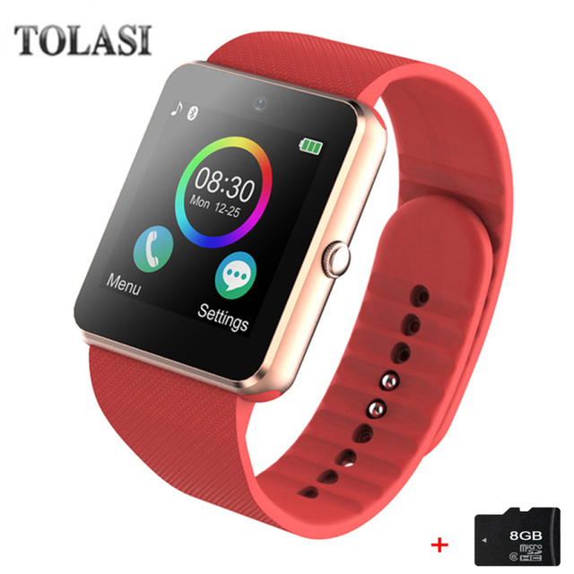 d8e24d05500 Bluetooth Smart Watch Smartwatch GT08 Android Phone Call Relogio 2G GSM SIM  TF Card Camera for iPhone Samsung HUAWEI PK DZ09 A1