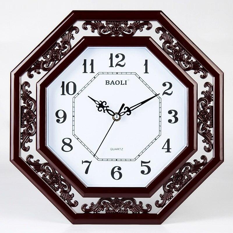 polaroid 12 chinese style mute wall clock modern quartz clock pocket watchin wall clocks from home u0026 garden on alibaba group