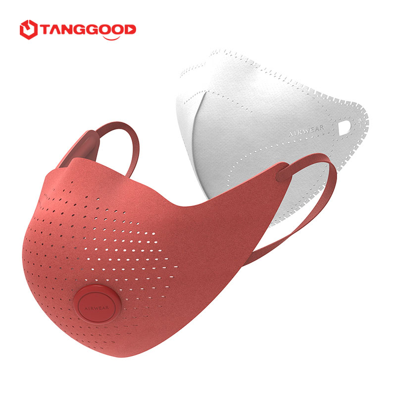 Xiaomi Mijia Air Wear PM0.3 Anti-haze Face Mask Adjustable ear hanging Comfortab