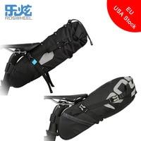 ROSWHEEL ATTACK Series Large Capacity Black Cycling Bicycle Saddle Tail Rear Seat Waterproof Storage Bag 131372