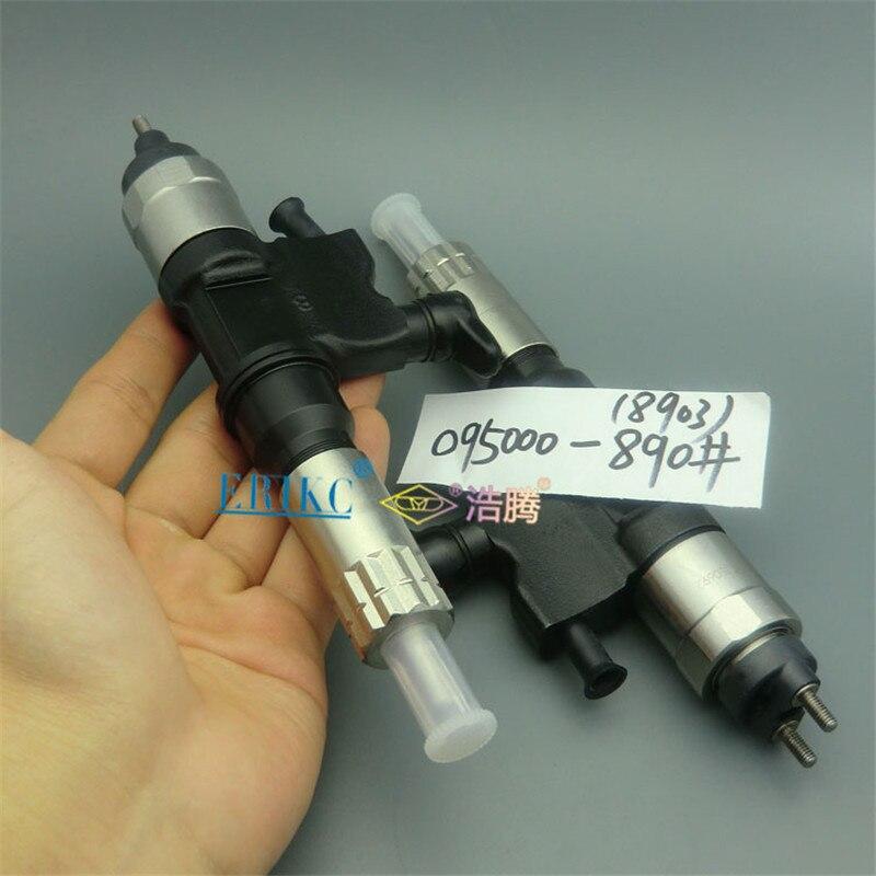 Injecteur automatique 8901 de moteur Diesel de carburant d'injection d'erikc 095000-8901 (8-98151837-3) injecteur commun de Rail 0950008901 pour Isuzu
