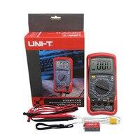 UNI T UT53 multimeter tester Standard DMM Digital Multimeters W/ Temperature Test & Sleep Mode multimeters multimetro analogico