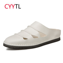 CYYTL/ г. Летние мужские туфли-слипоны мягкие пляжные вьетнамки для улицы мужские удобные шлепанцы Terlik Zapatos De Hombre Chanclas