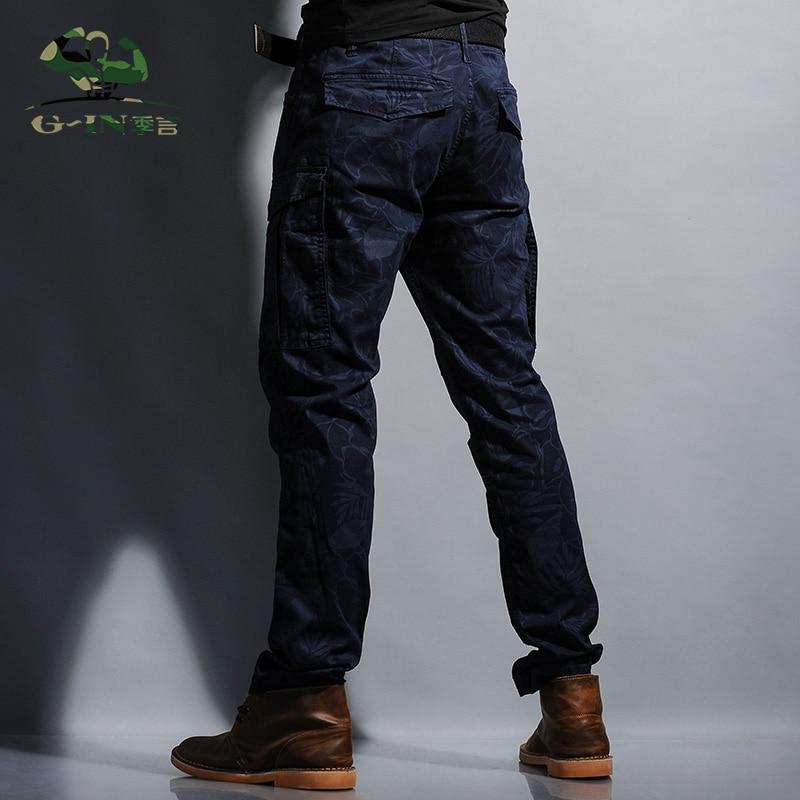 Camouflage Coton Survêtement Bleu Joggeurs Caming De Hommes Pantalons Cargo 100 Marque Armée Pantalon Mode Militaire 7wqdxzn4g6