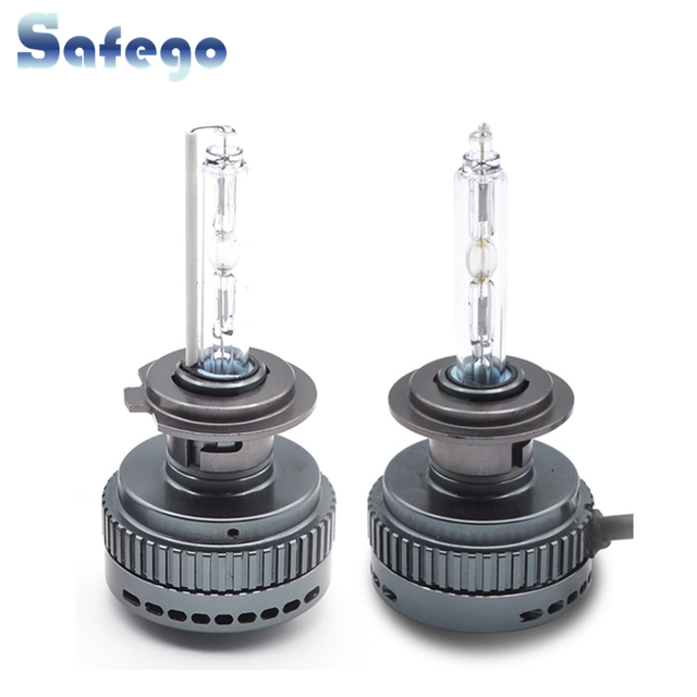 US $39 09 15% OFF|Safego H1 H3 H4 H7 H11 9005 9006 9012 30W Xenon Hid bulbs  highlighting quick start series brighter than normal xenon 6000k 12V-in