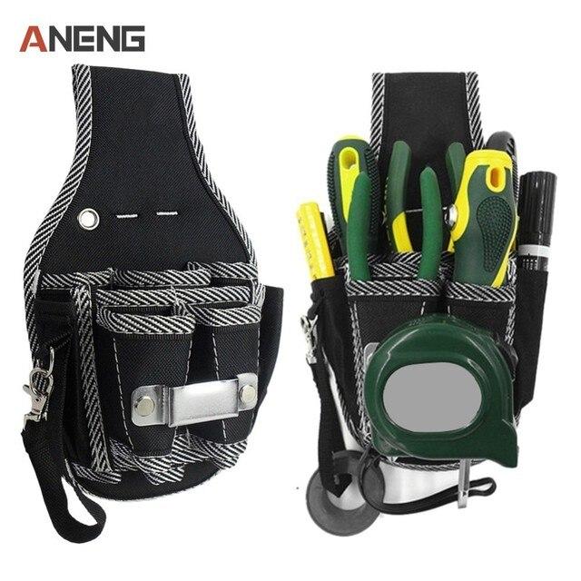 9 in 1 drill screwdriver utility kit holder nylon carpenter tool bag ...