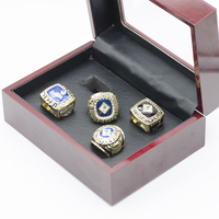 Replica Championship Ring 1955 1978 1981 198 Los Angeles Dodgers World Series Championship Rings Set With