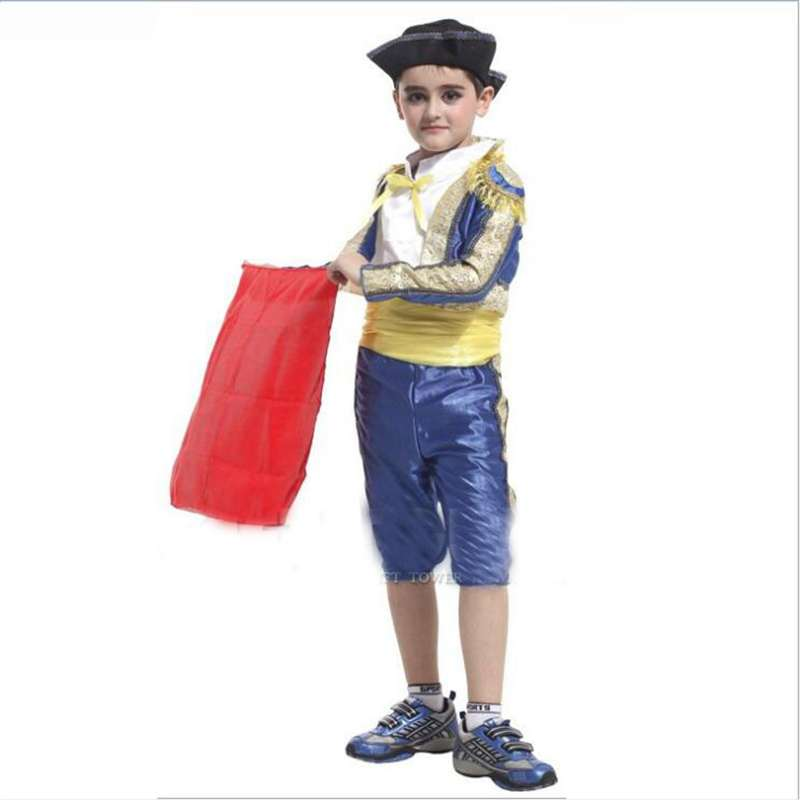 Boy Performance Clothing Children's Costumes Small Matador Boy Spanish Bullfight Cosplay Costumes