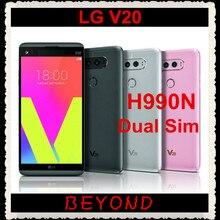 LG V20 Dual H990DS H990N,, GSM, 4G, LTE, Android, две sim-карты, четыре ядра, ram, 4 Гб rom, 64 ГБ, 5,7 дюйма, двойной, 16 Мп, сотовый телефон, 3200 мАч