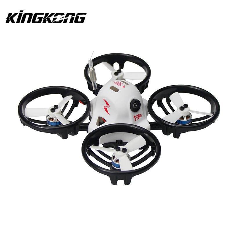 Kingkong ET Série ET125 125mm Micro FPV Racing Drone 800TVL Caméra 16CH 25 mW 100 mW VTX RC Racer Multirotor Quadcopter BNF