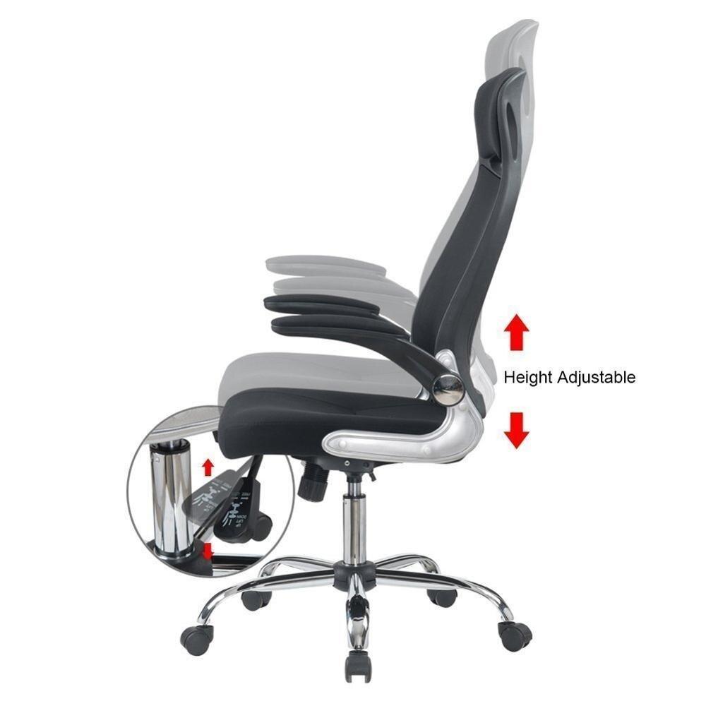 Купить офисное кресло чёрный вращающееся компьютерное проводная компьютерная