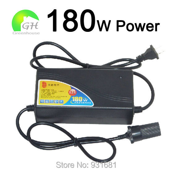 11.11 180W 15A Car Charger Adapter 110V 220V 12V Cigarette Lighter Converts Home Use - BETTA ELECTRONICS store