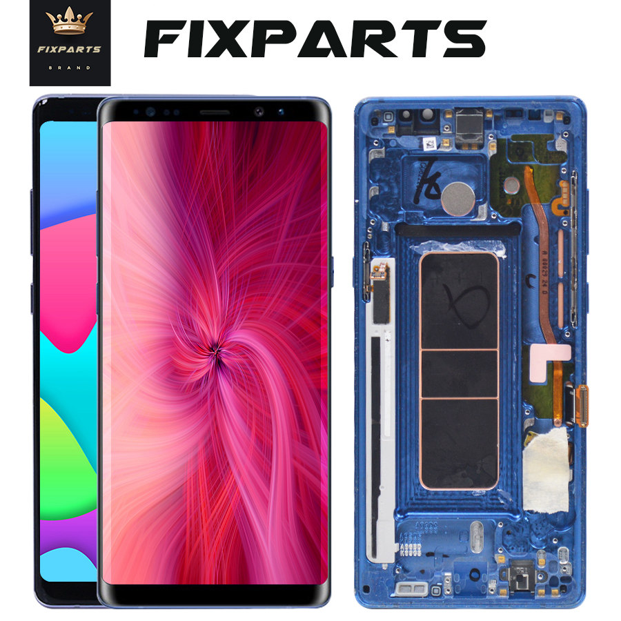 100 Tested For 6 3 SAMSUNG GALAXY Note 8 LCD Note8 Display Touch Screen Digitizer Assembly