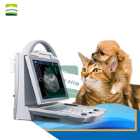 Dog Cat Pregnancy Testing Machine LED Screen Laptop Veterinary Ultrasound Scanner Disease Scanner