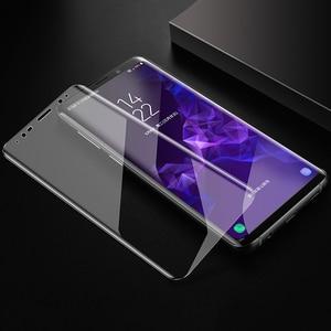Image 4 - Lamorniea 100D S20 Ultra Uv Glas Screen Protector Met Vingerafdruk Unlock Voor Samsung Galaxy Note 10 8 9 S10 Plus s8 S9 Glas