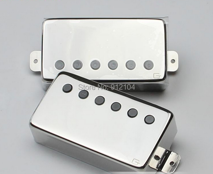 free shipping high quality new LP electric guitar pickup in chrome E-04