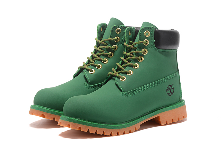 TIMBERLAND Women Classic 10061 Green Street Martin Boots,Woman Popular High Top Fashion Leather Ankle Work Timber Casual Shoes  1