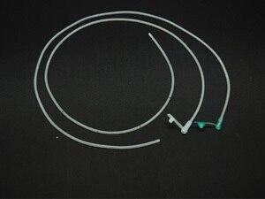 2ks Jednorázové žaludeční trubice silikagel trubice krmení trubice pvc žaludek trubice lékařské nemocnice dodává rodinné zdravotní lékárny