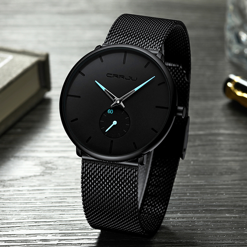 Casual Quartz Analog Watch Men's Waterproof Sports Wrist Watch Male Clock