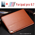 Luxury Quality genuine leather protective case for ipad pro 9.7 for ipad air3 smart cover For Apple iPad Pro 9.7'' + film+pen