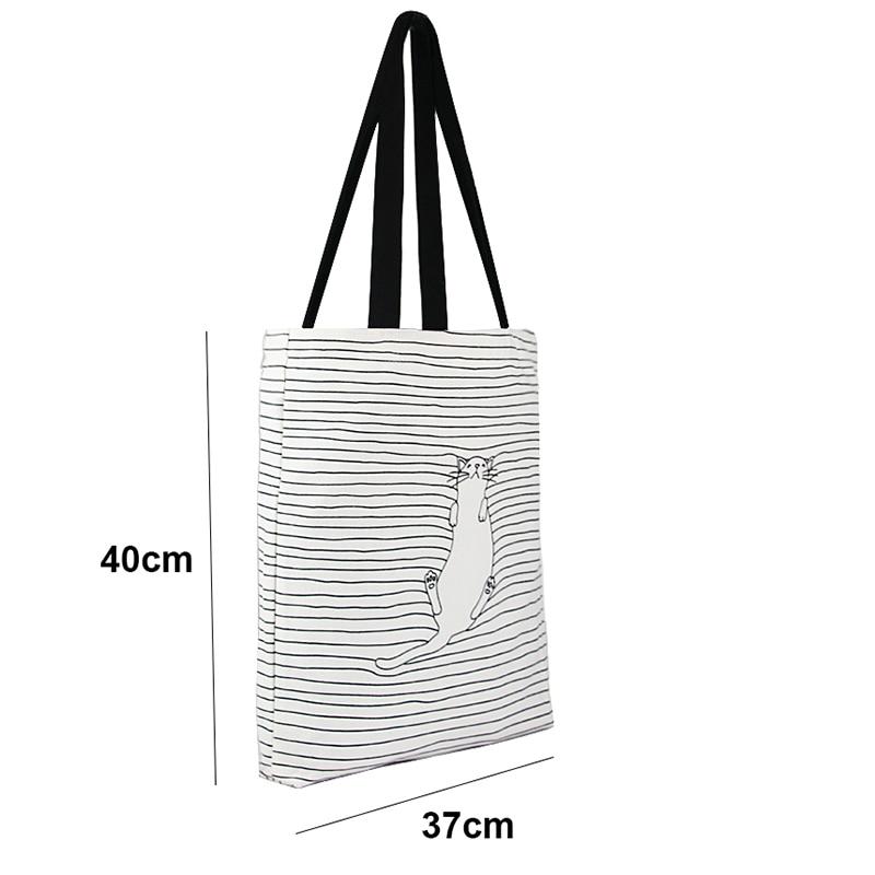 algodão eco diário feminino bolsa Exterior : Nenhum