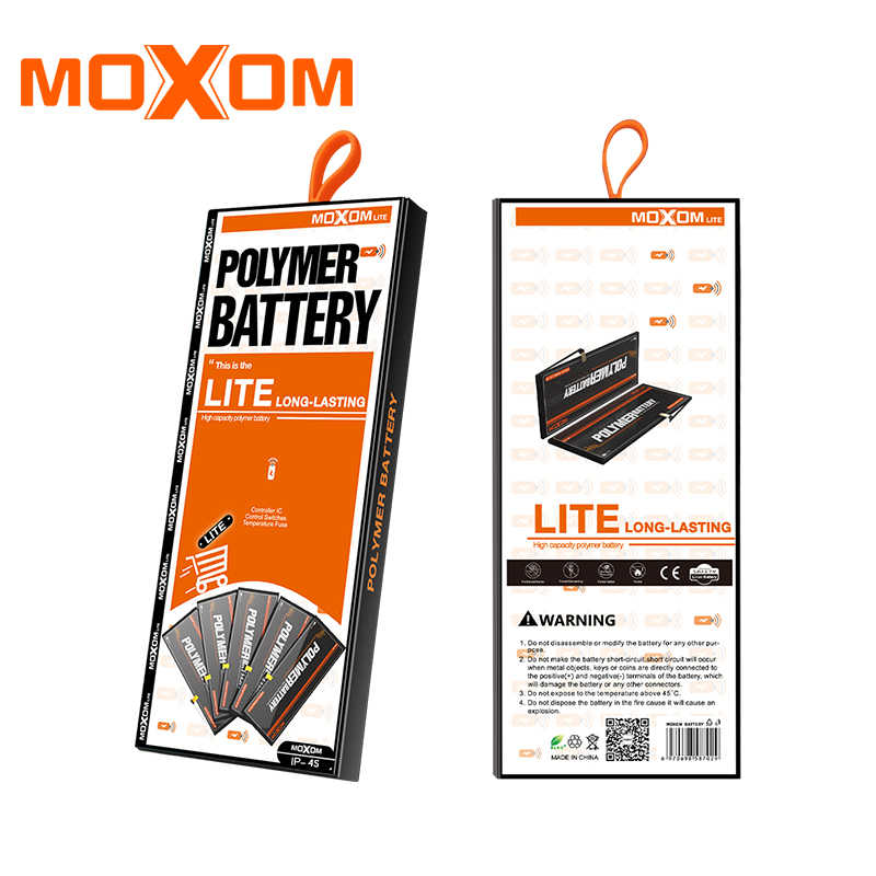 37d24d8e936fce ... MOXOM Mobile Phone Batteries For iPhone 4S 4GS 1330mAh Real Capacity  Replacement Battery 3.7V Lithium