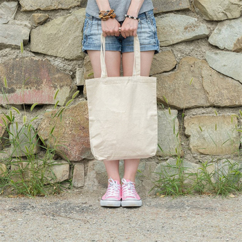 New Eco Cotton Tote Reusable Women Storage shoulder Shopping Bag Beach Handbags Grocery fruit bags CT001 3