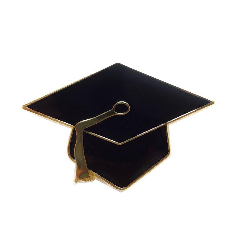 Ev ve Bahçe'ten İğneler ve Rozetler'de 28mm Metal Trencher cap pin rozeti mezuniyet öğrenci el sanatları (Demir + epoksi + kelebek düğme arka)  ücretsiz gemi (300 adet/grup)'da  Grup 1