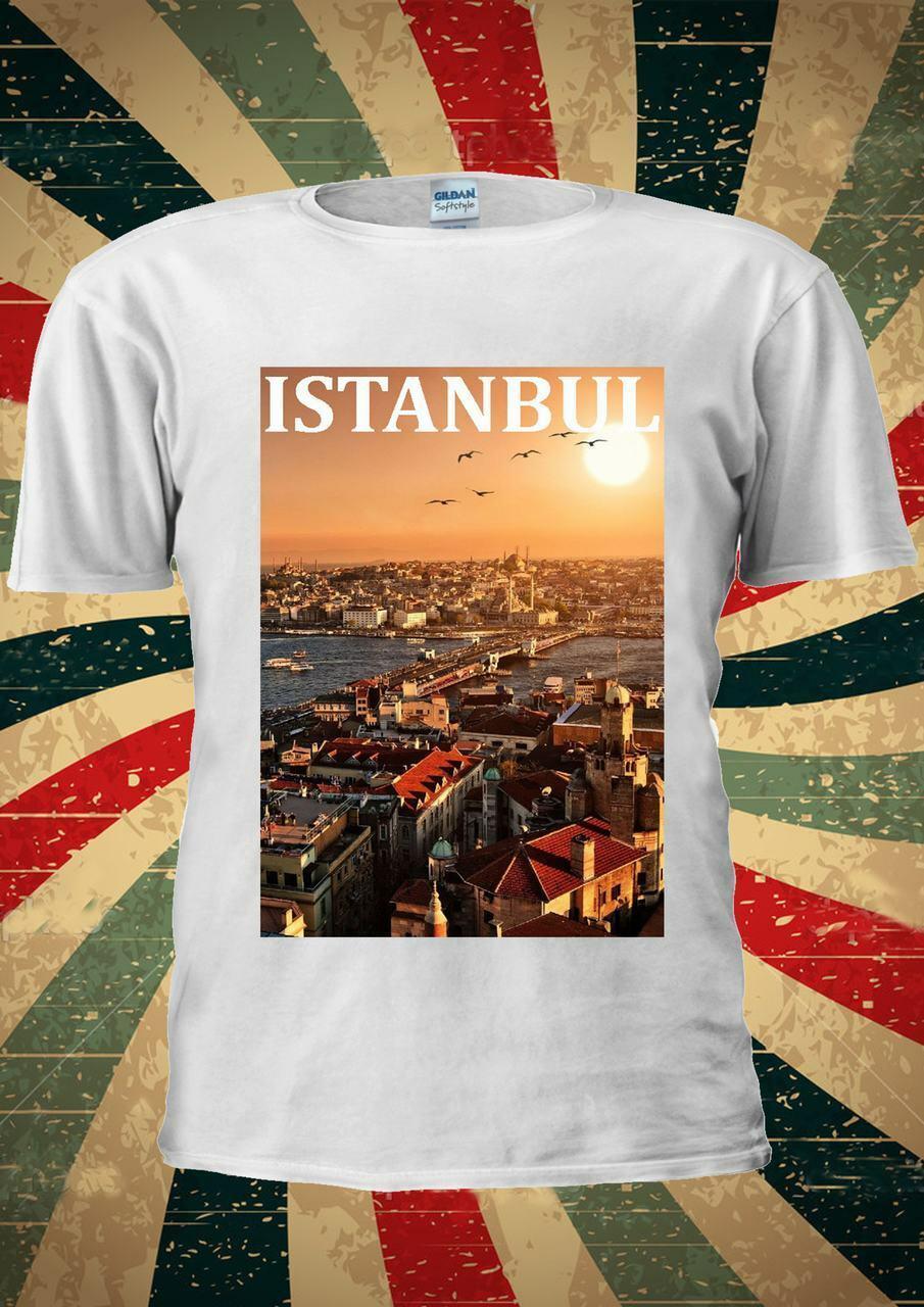 De Camisa Estambul Turquía T Ciudad Moda Tumblr Los Sueño Yb76gyf